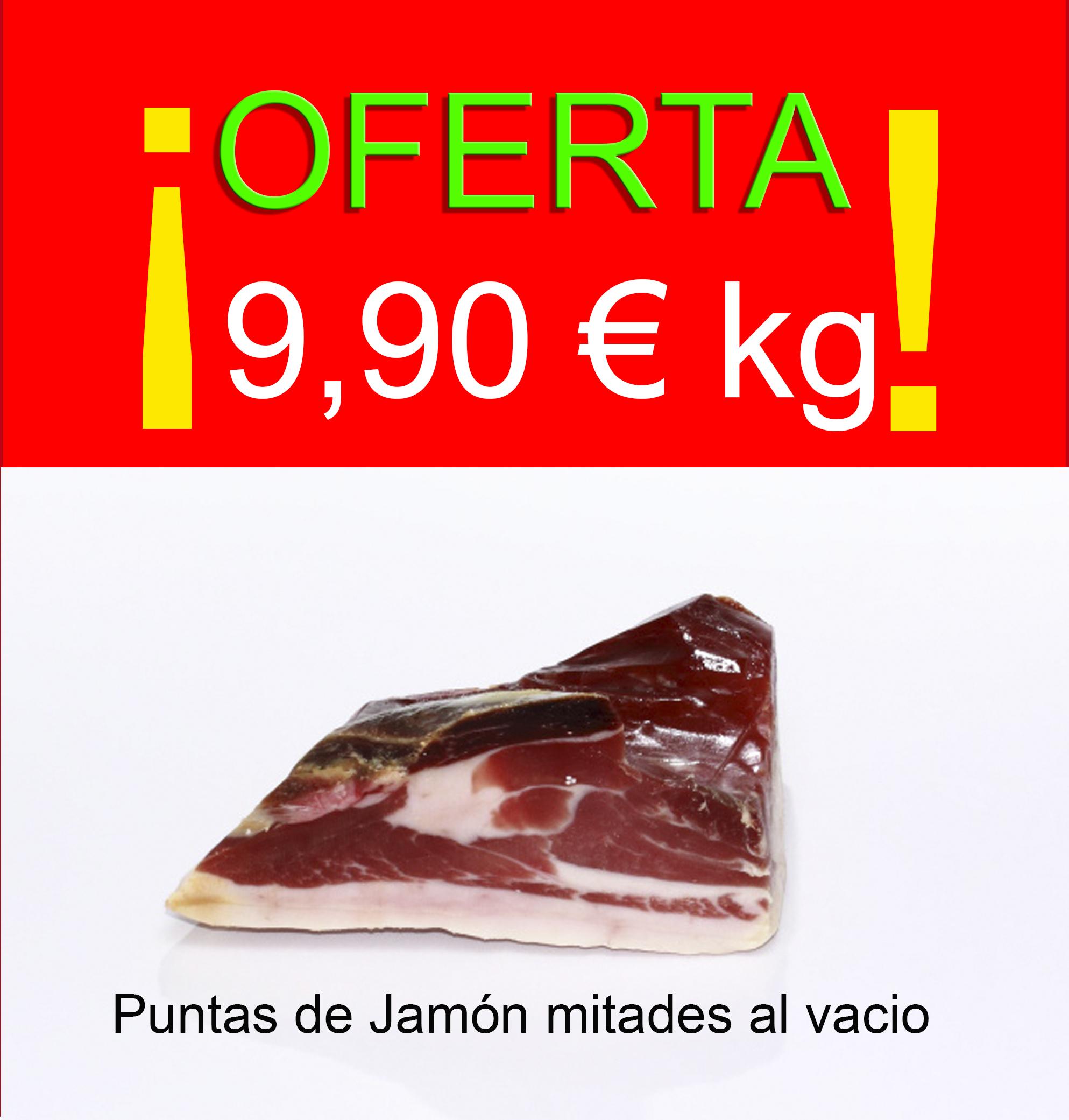 Oferta puntas de Jamon al vacio 9,90