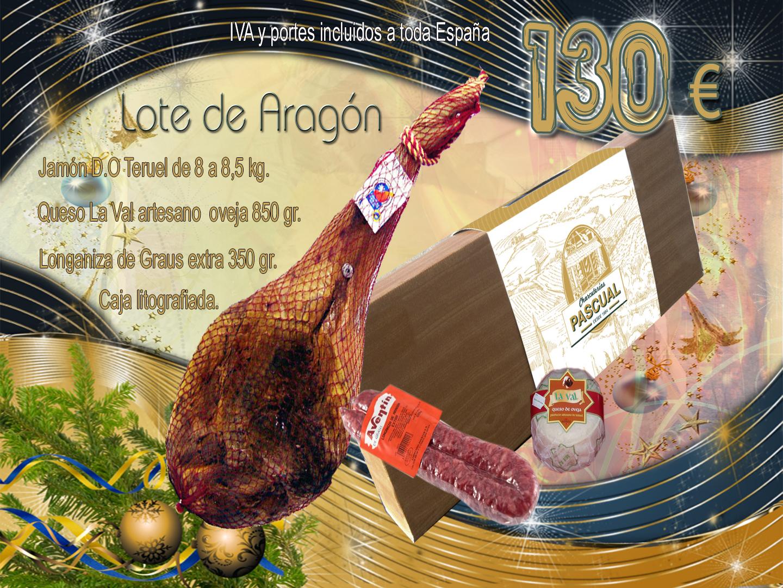 Lote Regalo navideño con lo mejor de Aragón