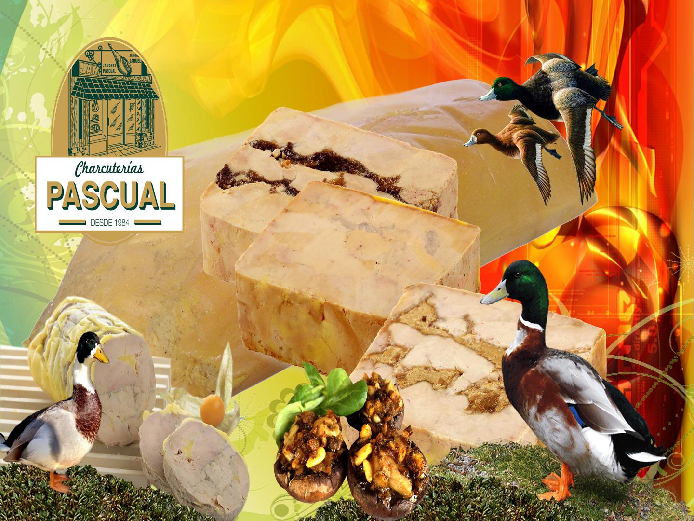 Foie gras de pato y oca, Charcuterías Pascual